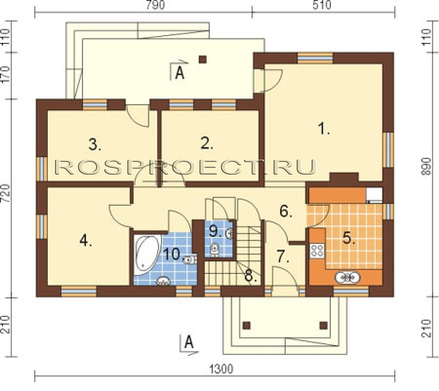 Строительство план одноэтажного дома 150 кв м с цоколем открытки Вера